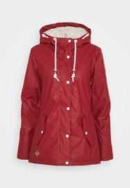 Ragwear Marge Winter Jas - Red