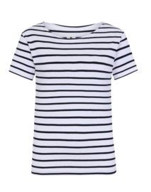 Mousqueton ANOUKY T-Shirt - blanc / marine
