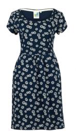 Weird Fish - Printed Viscose Dress - Satso - Navy - SS21