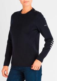 Saint James Sweater Round Neck Bregancon U Wool Navy (W)