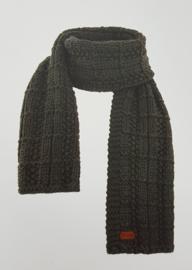 Weird Fish Sudbury Knit Scarf - Cement