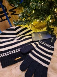 Saint James set; hat & gloves