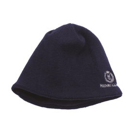 Henri Lloyd Knitted Winter Beanie (inside: Polar Fleece) - Navy / Grey