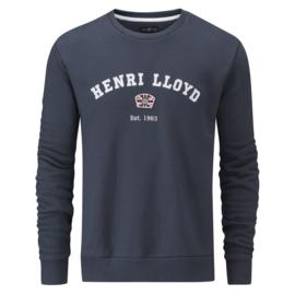 Henri Lloyd Logo Sweater Navy Est. 1963