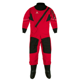 Henri Lloyd cobra drysuit - Red - KIDS