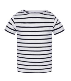 Mousqueton MATELY  KID shirt - blanc / marine