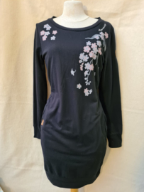Ragwear Dress Flower Print Black (W)