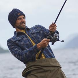 Weird Fish Tyburn Check Fleece Shacket