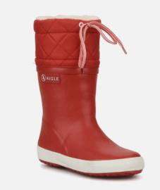 Aigle 'Giboulee' Winterlaars kinderen - rood