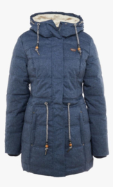 Ragwear Ashani Puffy winterjas - navy  (W)