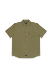 Mousqueton SILO linnen hemd - Sauge Green