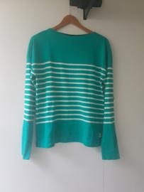 Mousqueton DIAFANE Sweater - Nil/ Ecru