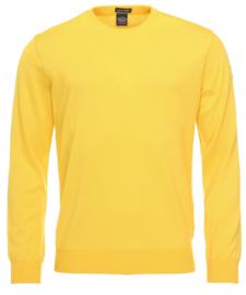 Paul & Shark merino crewneck yellow
