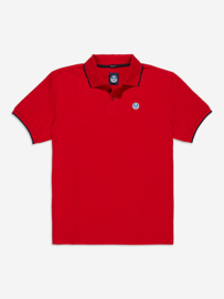 North Sails Polo S/S W Graphic - Red