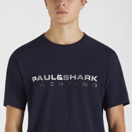 Paul & Shark Yachting T-Shirt Print Blue