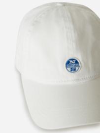 North Sails - BASEBALL CAP W/LOGO - White - SS21
