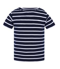 Mousqueton MATELY  KID shirt -  marine / blanc