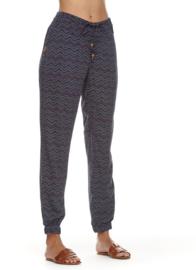 Ragwear - TALIN CHEVRON - Pants - Navy Blue - SS21