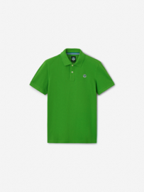 North Sails - POLO S/S W/LOGO - Classic Green - SS21