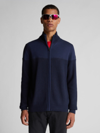 North Sails Cotton and Wool Cardigan - Navy