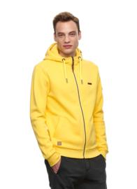 Ragwear - NATE ZIP - Hooded Vest - Yellow - SS21