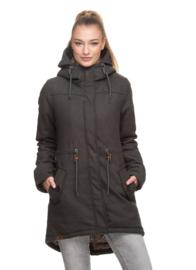Ragwear Elba Coat A Winterparka  - Black/donkergrijs (W)