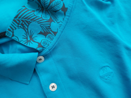 North Sails - POLO S/S W/EMBROIDERY - Vivid Blue - SS21