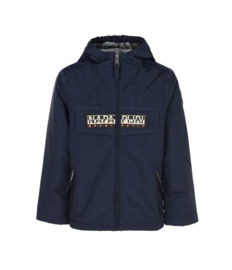Rainforest Winter Open Kid Full Zip Navy