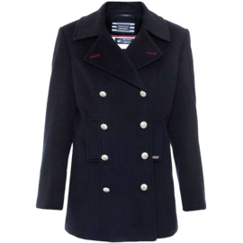 Saint James ST BRIAC III Navy Pea Coat (W)
