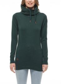 Ragwear Babett Long Sweater (Tex) - Dark green