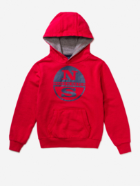 North Sails Hoody Rood