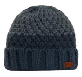 Halton Knit Beanie - Navy