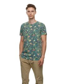 Ragwear - SWAN - T-shirt - Plant print - Green - SS21