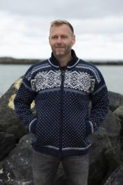 Norwool Noorse Windstopper Vest - 100% wol - Navy