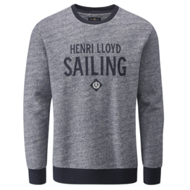 Henri lloyd Denim Navy Crew Neck Sweater