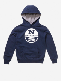 North Sails Hoody Blue