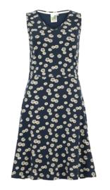 Weird Fish - Organic Printed Jersey Dress- Paisley - Navy Blue - SS21