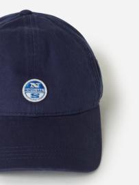 North Sails BASEBALL CAP W/LOGO - Vintage Indigo - SS21