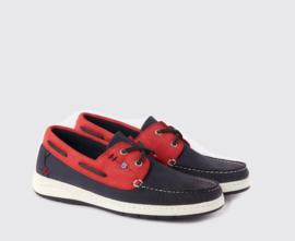 Dubarry Florida bootschoen - blauw/rood (w)
