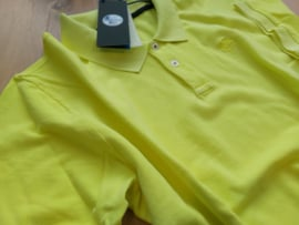 North Sails - POLO S/S W/EMBROIDERY - Yellow Fluo - SS21