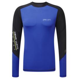 Henri Lloyd Energy Long SLeeve Rash Vest MCD Blue