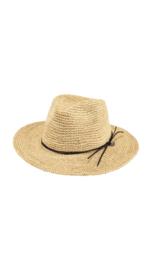 Barts Hat Celery Raffia Straw Natural (adjustable)