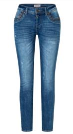 Timezone  jeans slim fit Tahila TZ - Rough Sea Blue Wash