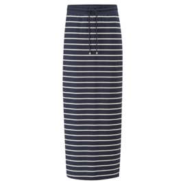Henri Lloyd Maddie Maxi Skirt navy white stripe