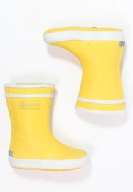 Aigle 'Baby Flac' Regenlaars kinderen - blauw/geel/roze