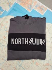 North Sails Organic Fleece Sweatshirt - Asphalt