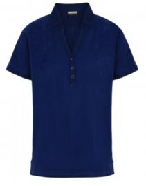 Napapijri EKELYN polo shirt - Blue Depths