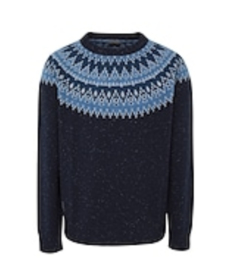 Napapijri DRENA crew neck sweater - blue marine