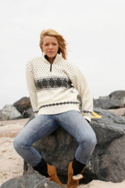 Norwool Noorse Trui - 100% pure nieuwe wol - ecru (uniseks)