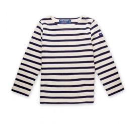 Saint James Meridien Moderne E - ecru/navy  Breton stripe shirt